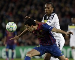"""Матч между лондонским """"Челси"""" и каталонским клубом закончился со счетом 2:2"""