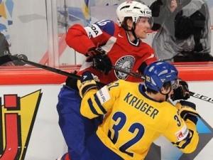 Сборная Швеции в матче против Норвегии показала неплохую игру, забив норвежцам три шайбы