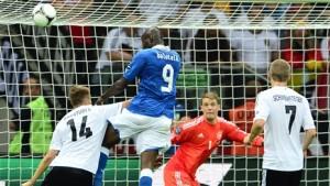 В результате острейшей борьбы сборная Италии одержала победу над сборной Германии