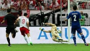 сборная Польши сыграла вничью со сборной Грецией – 1:1