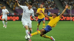 Шведы обыграли французов со счетом 2:0