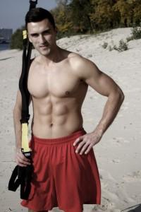 TRX тренировка на пляже