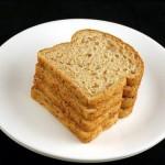 90 г льняного хлеба - 200 калорий