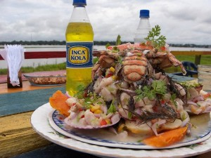Завтрак в Перу