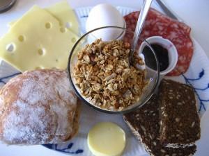 Завтрак в Дании