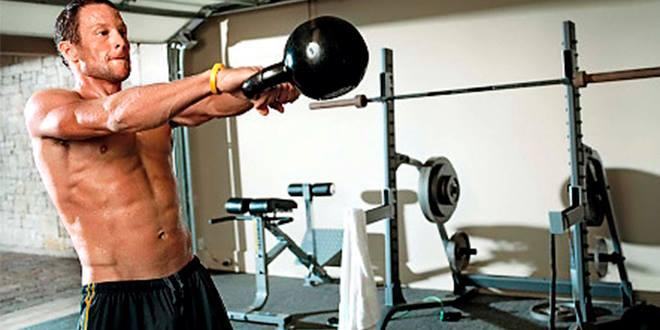 Описание лучших упражнений с гирями