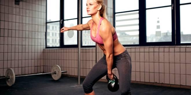 Описание лучших упражнений с гирями. Часть 2