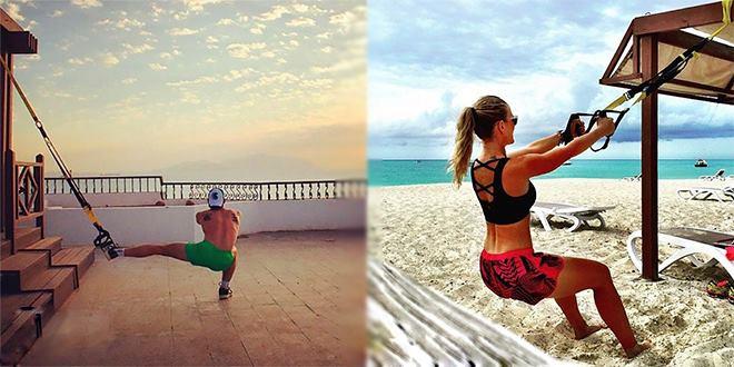 Описание самых эффективных упражнений на TRX. Часть 4
