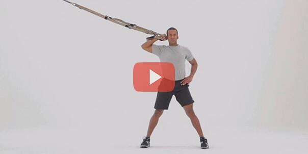 Упражнения для рук в TRX