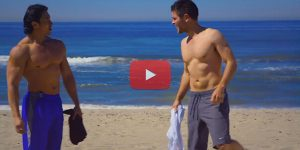 Как накачать пляжные кубики