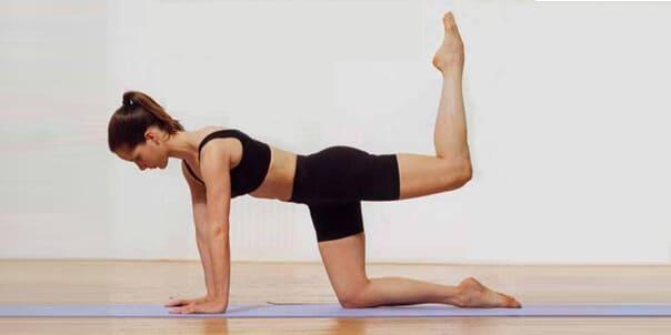 4 эффективных упражнения пилатес с весом собственного тела