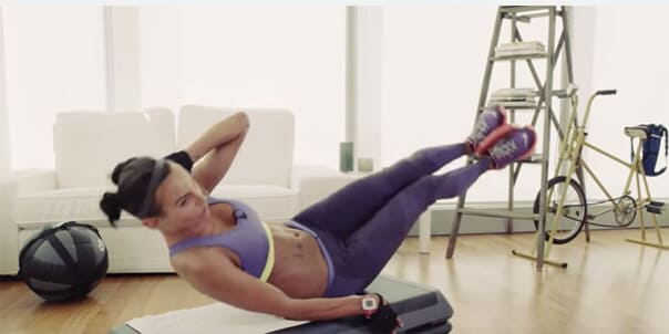 Подборка упражнений для рельефного пресса и плоского живота
