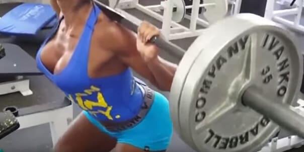 Женский тренинг: С какими Весами и Как часто?
